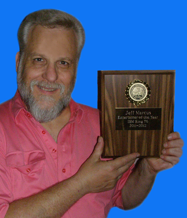 Santee resident Jeff Marcus wins Entertainer of the Year Award from International Brotherhood of Magicians, Ring 76..jpg