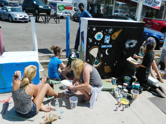 Painting An Electrical Box In La Mesa.jpg