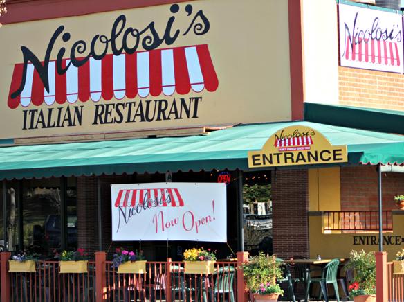East County Can Enjoy Fine Italian Cuisine At New Nicolosi S
