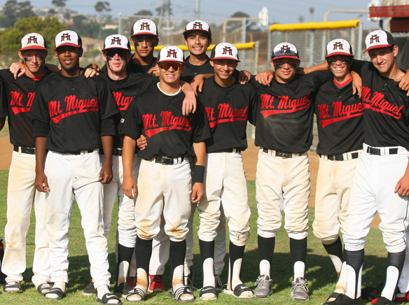 WEBBrad Moreno and his Matador teammates advanced to the third round of last spring's San Diego Section baseball championship playoffs. Photo by Phillip Brents.jpg