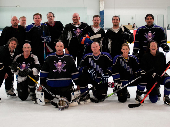 San Diego Voodoo Inline Hockey S Senior Elite Team To Participate In