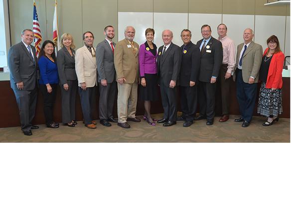 WEBGUHSD and GCCCD governing board members attending Alliance update meeting2.jpg