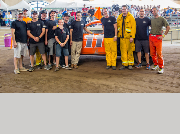 La Mesa firefighter wins this year's Firefighter's