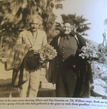 WEBEinstein and wife Elsa, crop.jpg