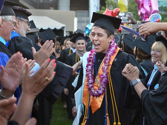WEBcuyamaca graduate Evan Esparaza in honor line.jpg
