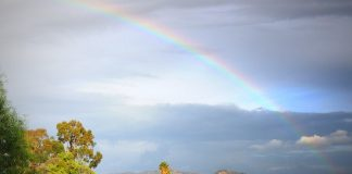 The Healing Place, Rainbow over Lindo Lake, photo by Cynthia Robertson.JPG