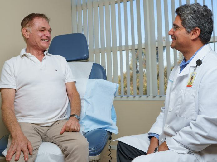 WEBDr. Tanagho and Tom Corbett - BPH patient.jpg