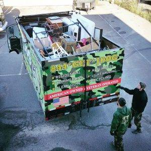 Junk removal company employs veterans, helps the environment